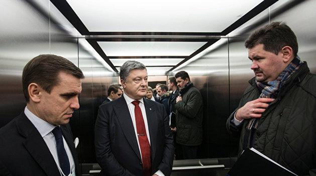 Больше никто не потревожит Порошенко в Давосе острым вопросом