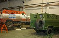 Машины ОБСЕ перекрашивают и отдают ВСУ
