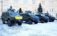 Нацгвардия Украины получила новые броневики для боев в Донбассе