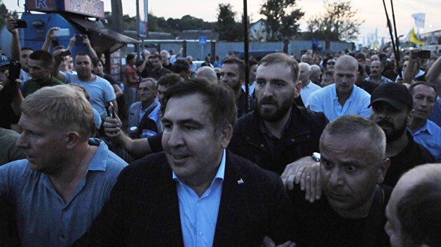 Сакварелидзе вручили обвинение по прорыву Саакашвили через границу