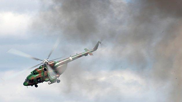 На Украине разбился вертолет