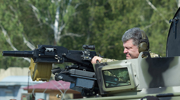 Порошенко опять понизил рейтинг украинской армии