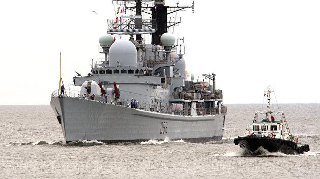 Ракетный эсминец НАТО вошел в Черное море