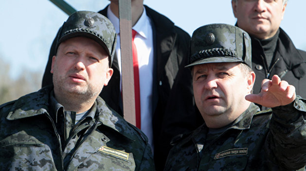 Турчинов сообщил о готовности Киева к блицкригу против ДНР и ЛНР