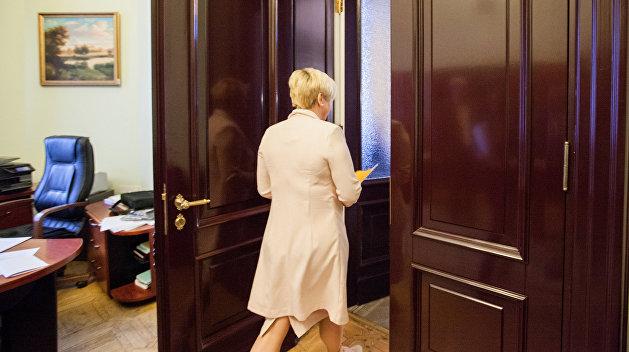 МВФ опечалила отставка Гонтаревой