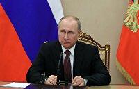 Путин отреагировал на удар по Сирии