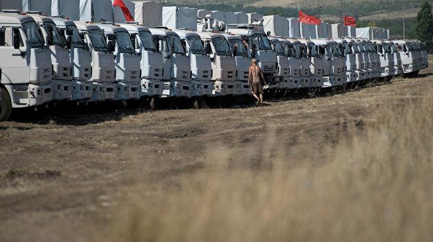 Россия подготовила второй гуманитарный конвой