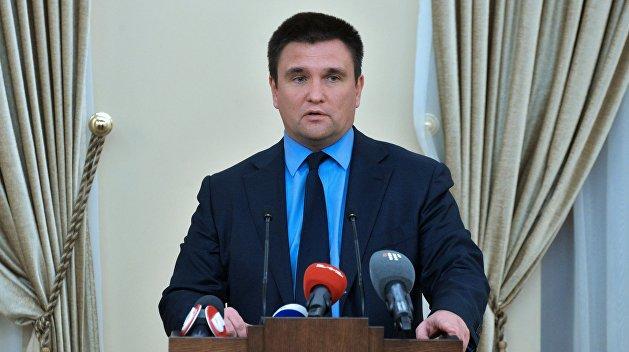 Климкин объяснил, почему не состоялась встреча Трампа и Порошенко