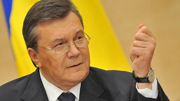 Янукович взывает к украинскому правосудию