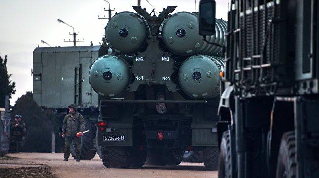 Четвертый дивизион С-400 начал дежурство на границе Крыма с Украиной