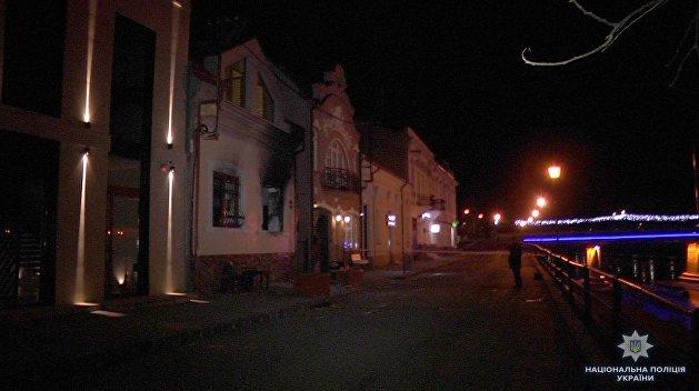 В Ужгороде подожгли офис Общества венгерской культуры