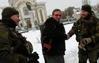 Следующий пошел: Охлобыстин готов вступить в ополчение ДНР