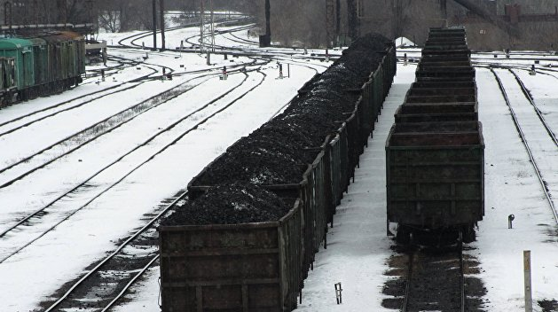 Уголь из ЛДНР направили в Россию вместо Украины