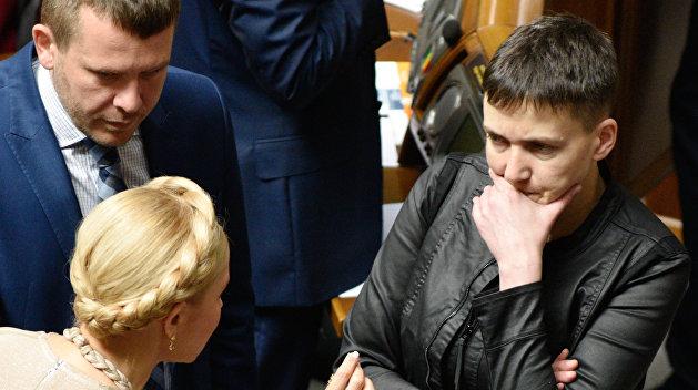 Тимошенко не намерена мешать аресту Савченко