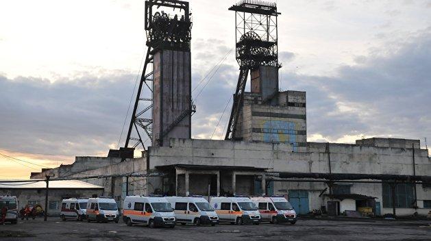 Взорвавшаяся львовская шахта разрушена