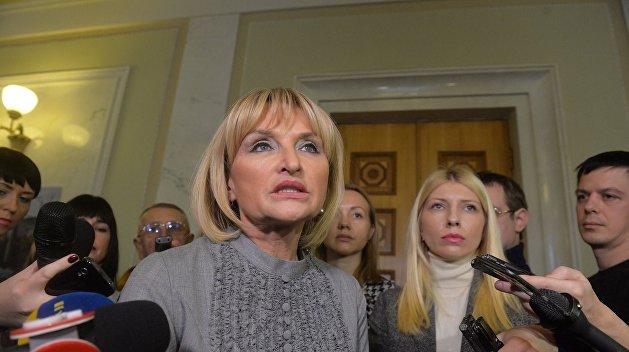 Ирина Луценко: Порошенко требует вернуть статью о незаконном обогащении
