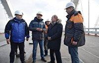 Впечатляет: Путин назвал Крымский мост уникальным сооружением