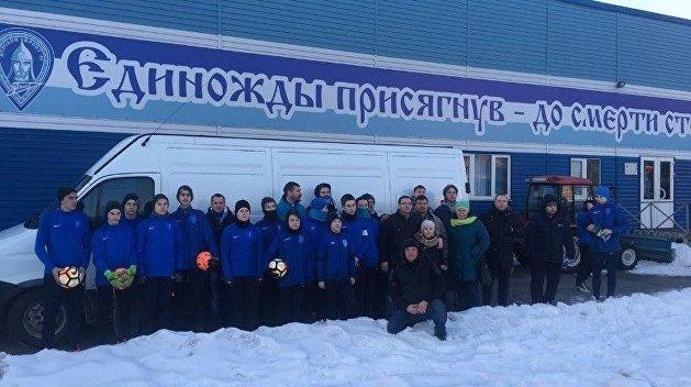 «Донбасс - это русское Косово!» - Объединение фанатов «Зенита» «Невский фронт»