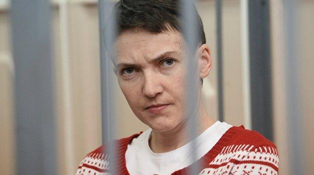 Вместе с едой Савченко отказалась от приема душа