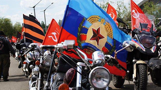 Российские артисты выступили в Луганске ко Дню мира