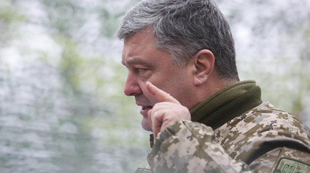 Порошенко рассказал, сколько денег намерен отобрать у ДНР и ЛНР