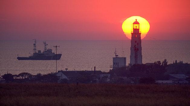 В Крыму арестовали итальянское судно