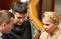 Савченко: Тимошенко лицемерит, она сама встречалась с лидером ДНР Захарченко