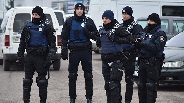 В Запорожье АТОшники нахамили депутатам и подрались с полицией
