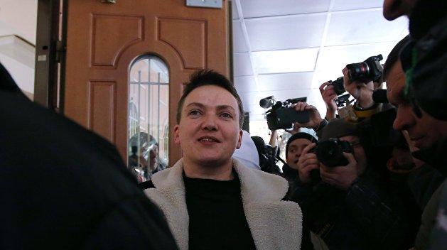Суд в Киеве начал рассмотрение ходатайства об аресте Савченко