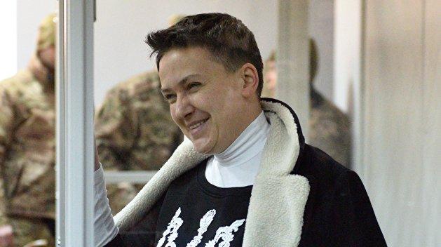 На процессе по делу Савченко в прокурора запустили сапог