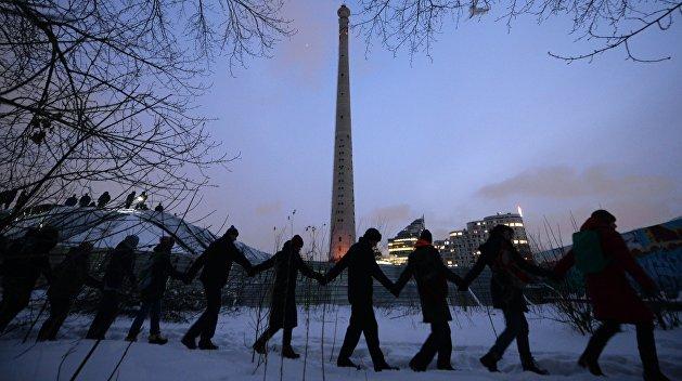 Взрыв телебашни в Екатеринбурге попал на видео