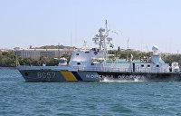Украинские пограничники захватили рыболовецкое судно из Керчи