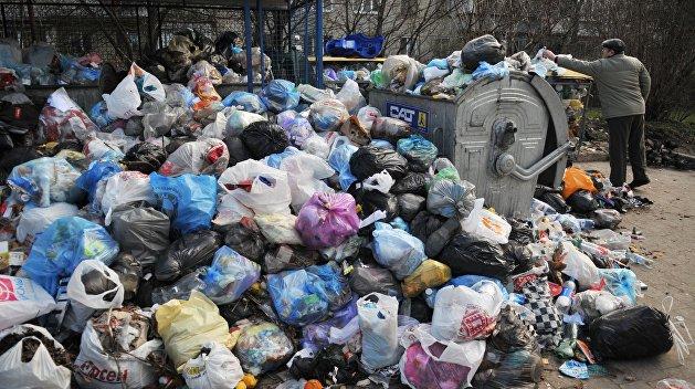 900 тонн львовского мусора «одолжили» трем украинским городам