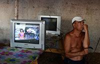 Подавляющее большинство украинцев черпают информацию лишь из телевизора