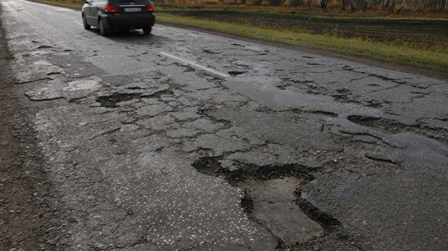Под Николаевом местные жители перекрыли трассу