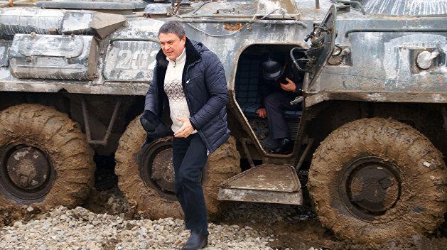 Александр Хуг впервые встретился с главой ЛНР в Луганске