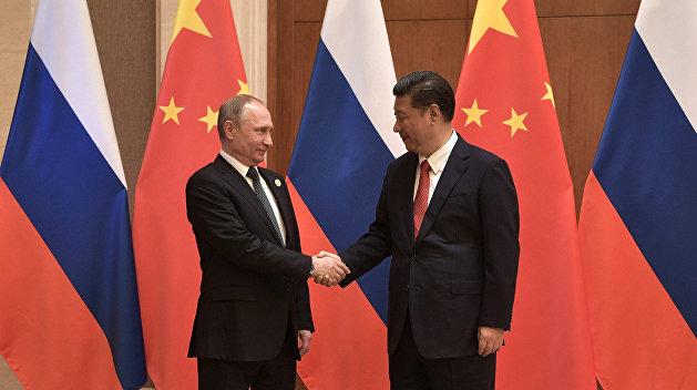 Владимир Путин встретился с Си Цзиньпином