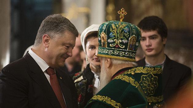 В сжатые сроки: Порошенко форсирует создание Поместной православной церкви