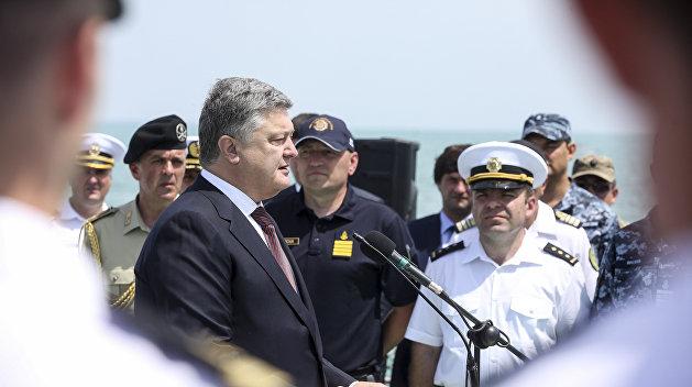 ВМС Украины: За скандал с квартирами для офицеров должен ответить Порошенко