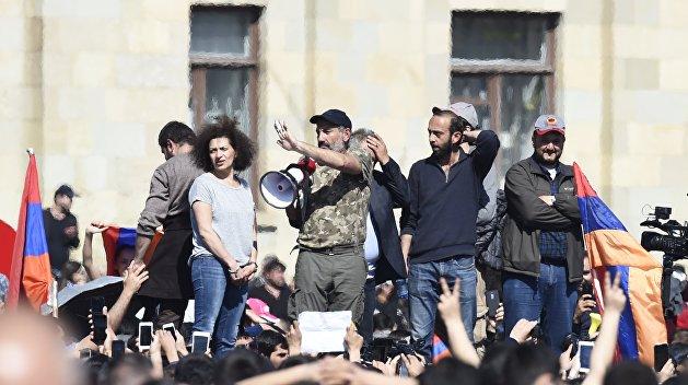 Лидера армянской оппозиции выпустили из СИЗО