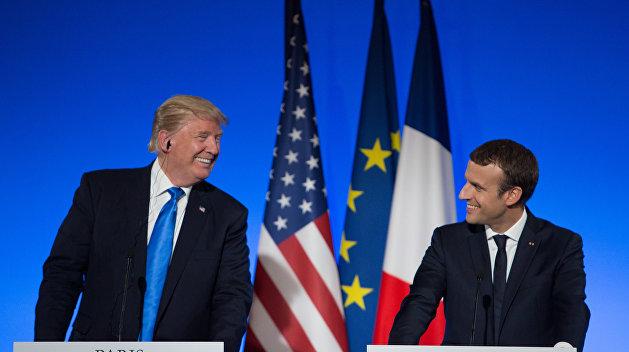 «Коммерсантъ»: Америка и Франция нашли общий атлантический язык