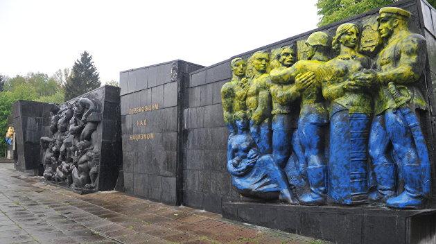 Власти Львова объявили о подготовке к сносу памятника победителям нацизма