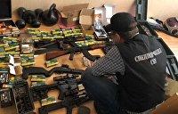 СБУ задержала военного Национальной гвардии, торговавшего оружием с Донбасса