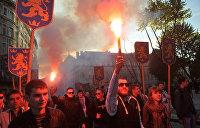 Нацистское шествие проходит в Киеве впервые со времен Великой Отечественной