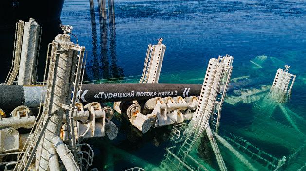 Стало известно, когда произойдет запуск газопровода «Турецкий поток»