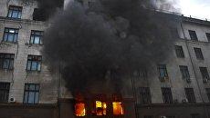 Посольство РФ в США:  Россия возмущена молчанием Вашингтона о трагедии в одесском Доме профсоюзов