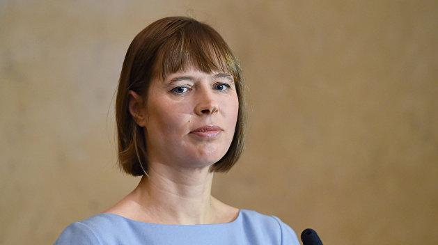 Президент Эстонии рассказала, как решилась заговорить с Путиным