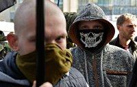 Язычники устроили драку на кладбище во Львове, пытаясь похоронить погибшего на Донбасе как викинга