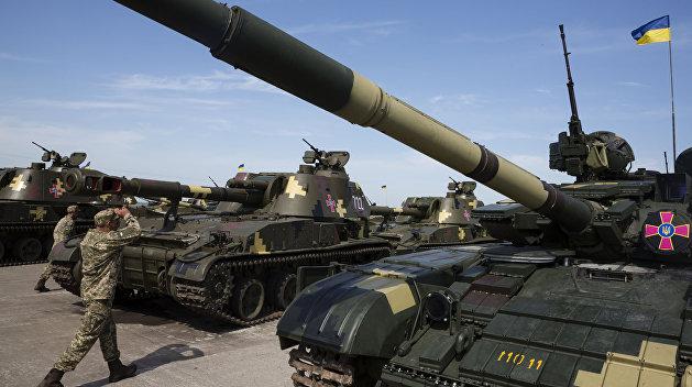 Украина заняла предпоследнее место в танковом биатлоне НАТО