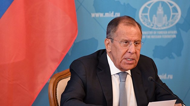 Лавров: ЕС молчал, когда Украина захватывала российские суда